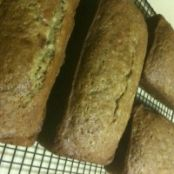 High Altitude Zucchini Bread
