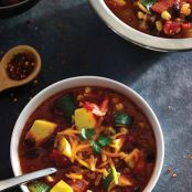 Tex-Mex Black Bean and Corn Stew