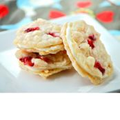 Strawberry Cheesecake Sandwich Cookies