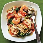 Linguine w/Shrimp and Vegetables