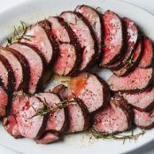 Roast Beef Tenderloin with Garlic & Rosemary