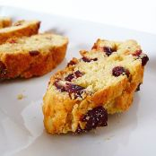 Cranberry White Chocolate Almond Biscotti