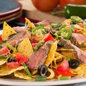 Marinated Steak Nachos