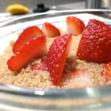 Cinnamon Strawberry Quinoa