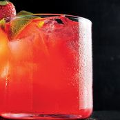 Strawberry & Lime Rickey