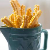 Famous Homemade Cheese Straws
