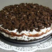 Layered Oreo Icebox Cheesecake