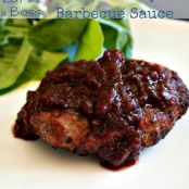 Smoked Cherry Barbecue Sauce