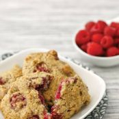 Low Carb Raspberry Drop Scones