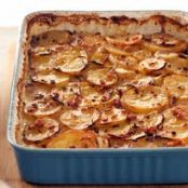 Bacon and Maple Scalloped Potatoes