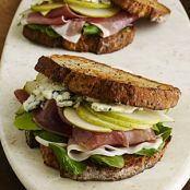 Prosciutto, Pear, and Blue Cheese Sandwich