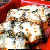 Cheesy Spinach and Mushroom Chicken