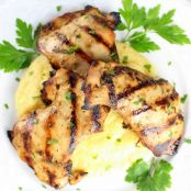 Grilled Rosemary Lemon Chicken Thighs
