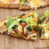 Baja Chicken Pizza