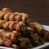 Bacon Asparagus Pastry Twists