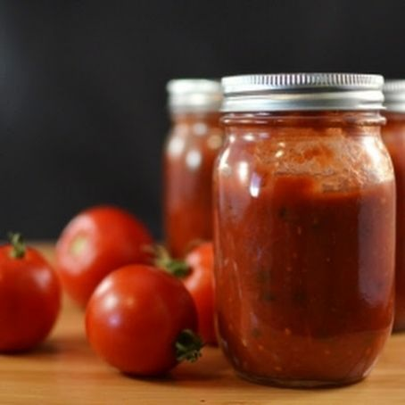 Canning – Tomato Sauce