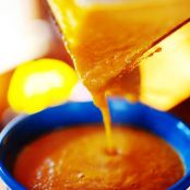 Carrot-Thyme Soup with Cream