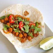 Soft Shell Chickpea Taco