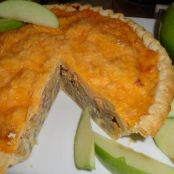 Apple, Sausage, and Cheddar Torte