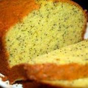 Quick Lemon Poppyseed Cake