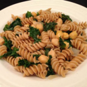 Garbanzo Bean and Kale Pasta