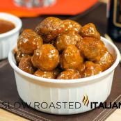 Buffalo Chicken Meatball Poppers