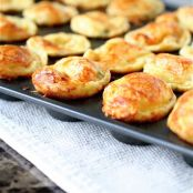 Scallion Gruyere Popovers