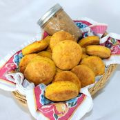 Uneven Biscuits(Recipe: Sweet Potato Butter Biscuits with Honey Cinnamon Butter)