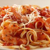 Shrimp Pasta with Spicy Tomato Sauce Recipe