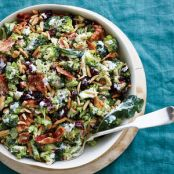 Cranberry-Almond Broccoli Salad