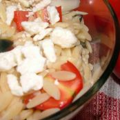 Greek Chicken or Shrimp with Everything Orzo