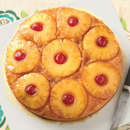 Self-Rising Pineapple Upside-Down Cake