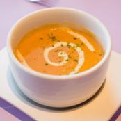 Crab and Roasted Red Pepper Bisque