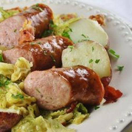 Kielbasa and Cabbage