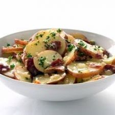 Healthified Hot German Potato Salad
