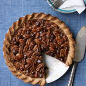 Double Pecan Chocolate Pie