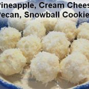 No Bake Cream Cheese & Coconut Snowballs