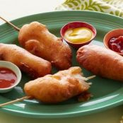 Fried Chicken Corn Dogs