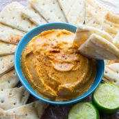 Smoky Sweet Potato Hummus