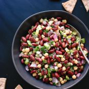 Lemon Parsley Bean Salad