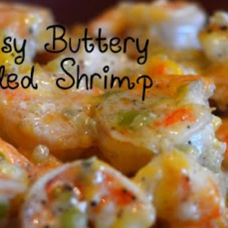 CHEESY BUTTERY BOILED SHRIMP