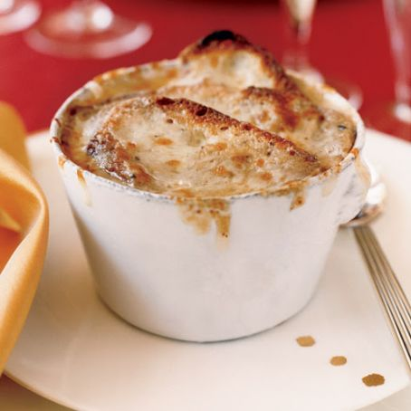 Truffle-Infused French Onion Soup