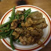 CE- Balsamic Chicken with Lemony Mushrooms and Green Beans