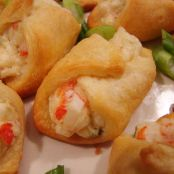 Seafood crescent roll