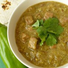 Beef or Pork Green Chile Stew