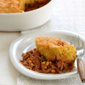 Chicken Chili Tamale Pie