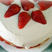 Strawberry Cream Cake from Cook's Illustrated