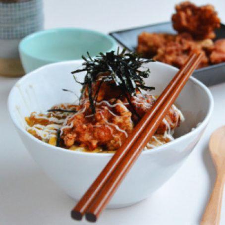 Chicken Karaage Don Recipe 4 5