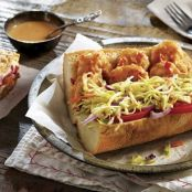 Sweet Chili Shrimp Po' Boy