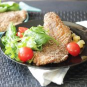Corn Meal Crusted Red Snapper